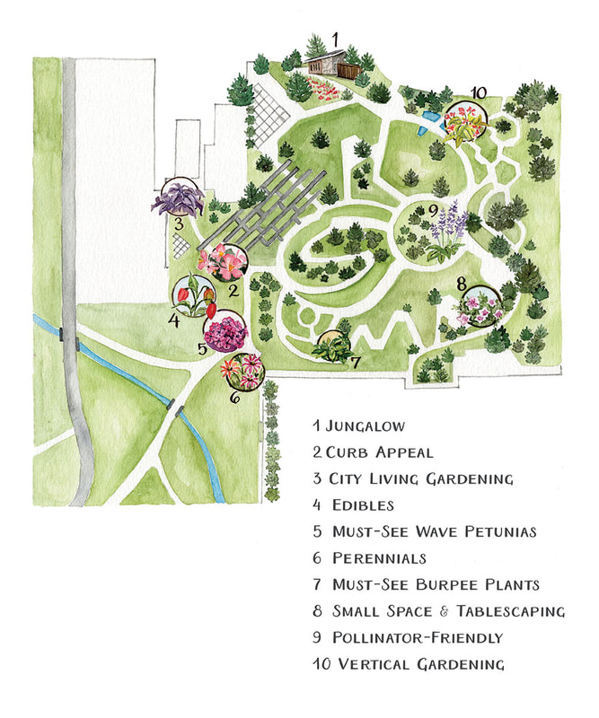 Map for Ball Horticultural Company